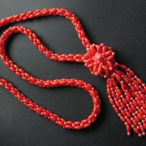 台湾红珊瑚项链