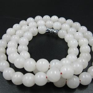 白玉珠项链