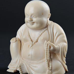 欧美回流 弥勒佛坐像