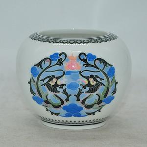 80 90年代醴陵釉下彩瓷罐