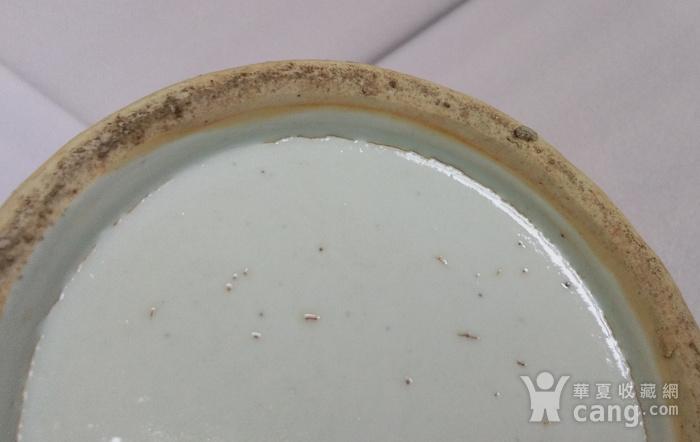 清嘉道广彩人物双耳大瓶高38公分图9