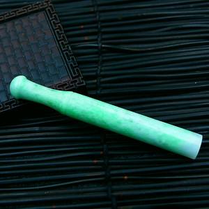 冰润满绿复古烟嘴