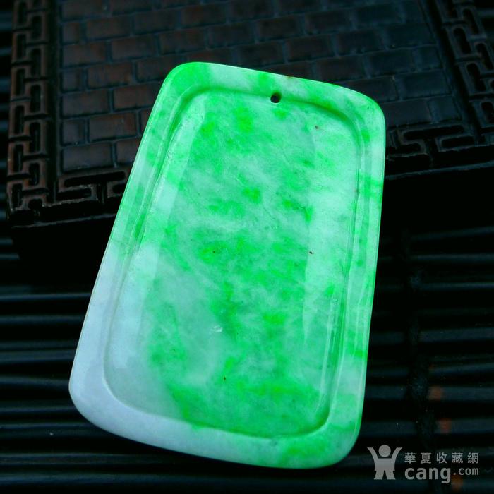 冰润绿飞龙在天吊坠图4