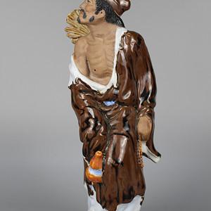 80年代济公雕塑摆件