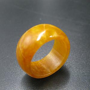 黄翡玉指环