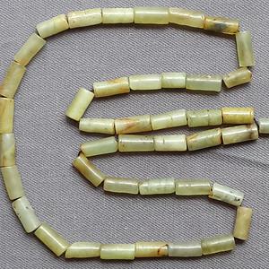 老玉筒珠项链