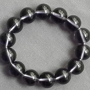 天然紫色水晶手链
