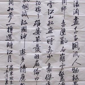 郭大伟行书4尺宣纸软片