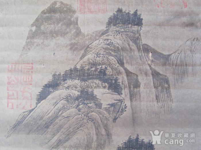 联盟  旧藏国画山水中堂图7
