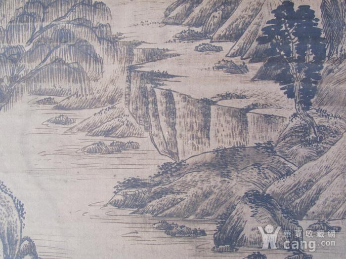 联盟  旧藏国画山水中堂图8