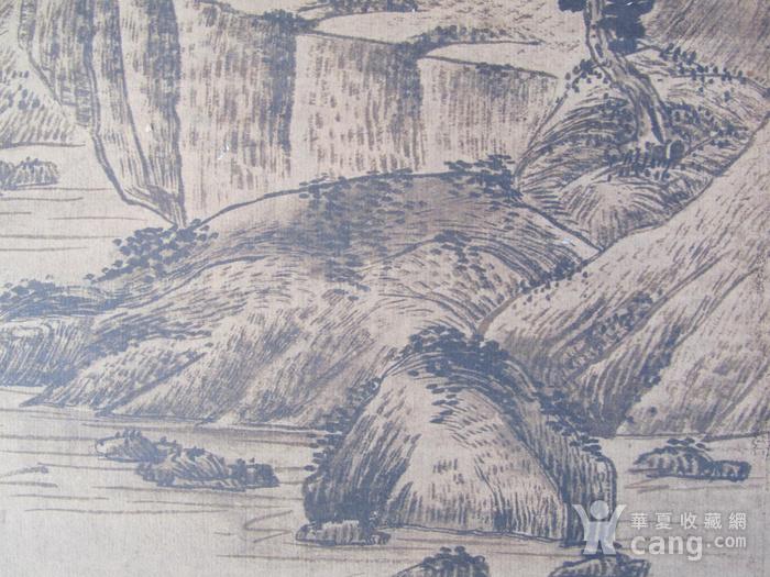联盟  旧藏国画山水中堂图9