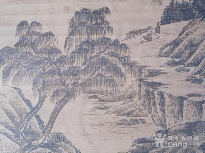 联盟  旧藏国画山水中堂图10