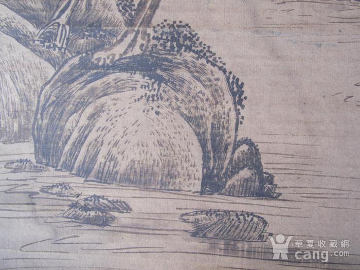 联盟  旧藏国画山水中堂图11