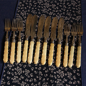 特殊材质 回流刀叉餐具12件套