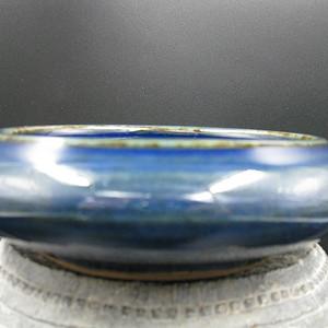 文房瓷蓝釉笔洗