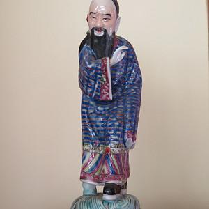 民国八仙吕洞宾塑像