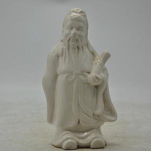人物瓷塑像