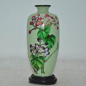 百年日本七宝烧小花瓶