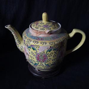 567粉彩茶茶