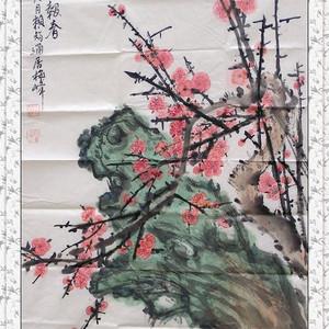 赖智通国画作品
