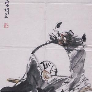 刘坤玉国画作品