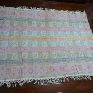 民国锦织桌布毯
