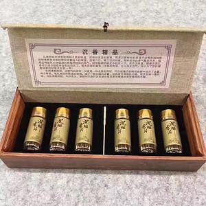 养生 越南芽庄沉香片烟丝六瓶一盒