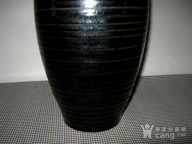 辽金黑釉梅瓶图4