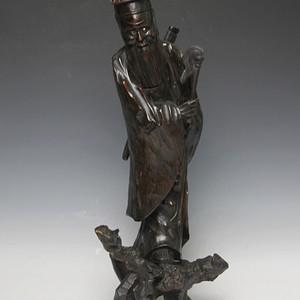 13清代根雕神仙人物雕件