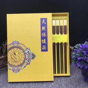 新年好礼,正宗红酸枝筷子一盒