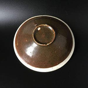 吉州窑双色釉大碗