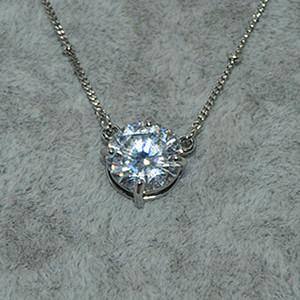 4.5克镶水晶吊坠项链