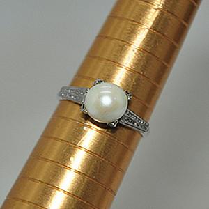 2克珍珠戒指