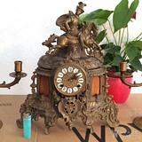 法国古董机械座