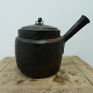 清代红铜水壶