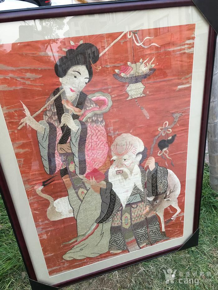 富禄寿禧 绣品图2
