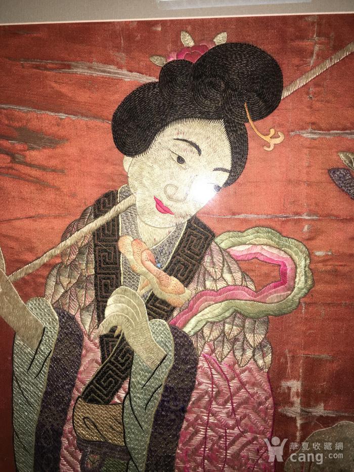 富禄寿禧 绣品图6