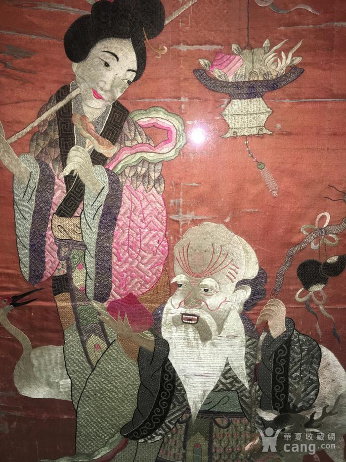 富禄寿禧 绣品图10