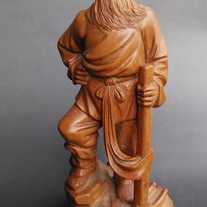 文革黄杨木雕人物