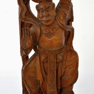 民国黄杨木雕