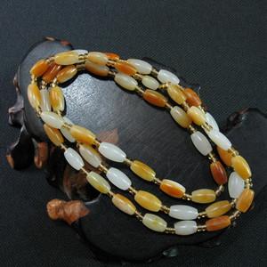 黄沁籽料项链