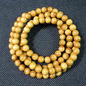 精品 橄榄核圆珠项链