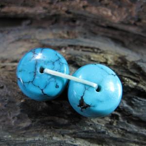 高瓷高蓝 对珠