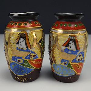 日本清代瓷观音瓶