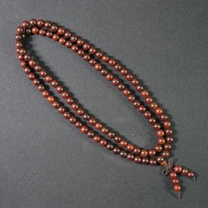 印度小叶紫檀项链108粒