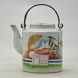 老茶壶 有残