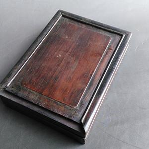 清晚红木酸枝镜盒