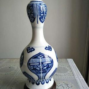 清代青花瓶