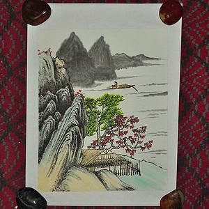 山水人物画