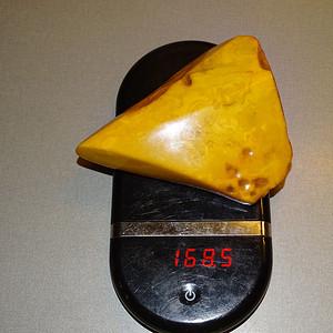 精品天然蜜蜡原石168.5g